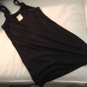 Tops - Sleeveless black tank top